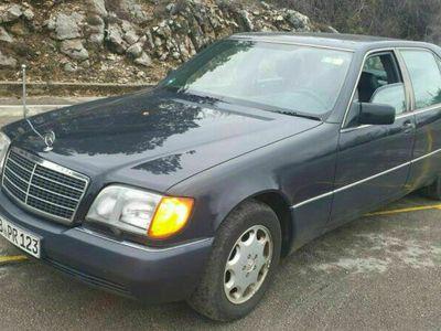 gebraucht Mercedes 600 SEL Diplomatenfahrzeug als Limousine in münchen