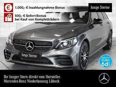 gebraucht Mercedes C400 T 4M AMG Pano Multibeam COMAND AHK Night PTS