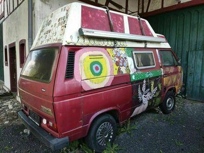 gebraucht VW T3 Camping Bulli mit Hochdach und 136 PS!