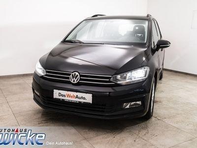 gebraucht VW Touran 1.6TDI Comfortline 7Sitzer Klimaautomatik
