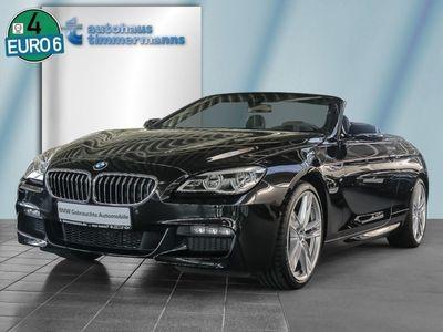 gebraucht BMW 640 Cabriolet d M Sportpaket Navi Prof. 20'' LED RK
