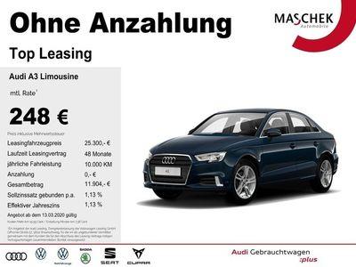 gebraucht Audi A3 Limousine Sport 35 TDI Stronic DAB Naviplus P M