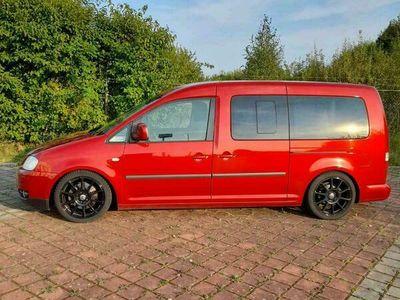 gebraucht VW Caddy Maxi Life 7-Sitzer 1,9 TDI DPF Tizianrot Perleffekt