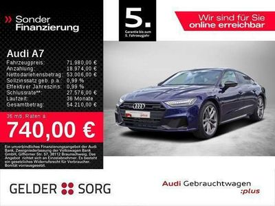 gebraucht Audi A7 Spb 55 TFSI e qu. *Matrix*S-Sitze*Panorama*