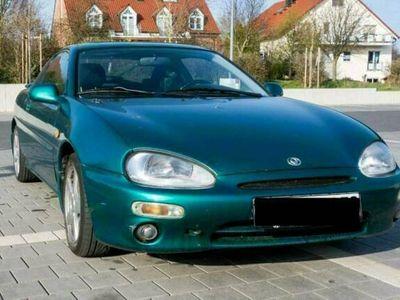 gebraucht Mazda MX3 grün/blau Sportfahrwerk, Sportau...