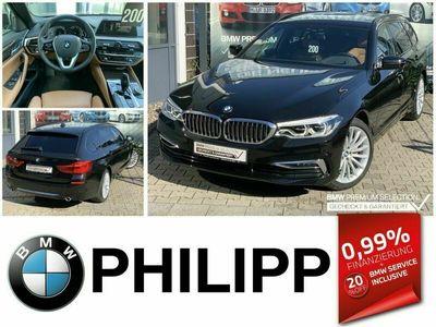 gebraucht BMW 520 d Tou Luxury LEA ab 439,-AHK Sportsitze Ad.LE