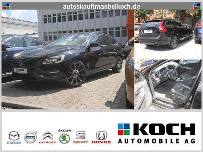 gebraucht Volvo V60 D4 Summum Leder Xenon Navi AHK (Klima Einparkhilfe