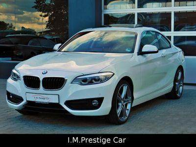 gebraucht BMW 230 i Steptronic Coupé Sport Line Aut. Navi LED