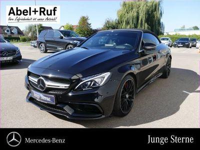second-hand Mercedes C63S AMG C 63 AMGCabrio Comand HeadUp LED*VOLL*NP:122,-TE*