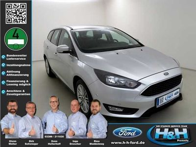 used Ford Focus Turnier 1.0 EcoB COOL&CONNECT (Temomat,Navi)