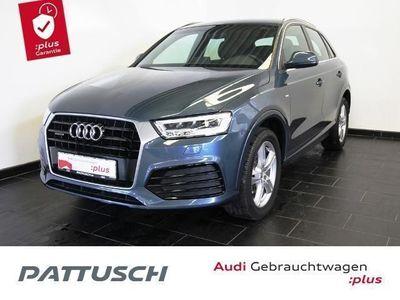gebraucht Audi Q3 2.0 TDI Q S-Line LED AHZV Navi Tempomat