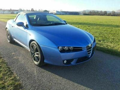 """gebraucht Alfa Romeo Spider 2.4 JTD 20V Exclusive""""MONTECARLO BLAU"""" als Cabrio/Roadster in Weilheim"""