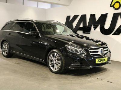 gebraucht Mercedes E350 BlueTEC 4-Matic Aut +LED +ACC +NAVI +Leder +Harman +Luftf