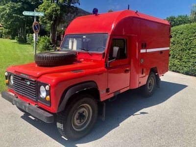 gebraucht Land Rover Defender 110 2,5 Benzin LPG Tüv neu !