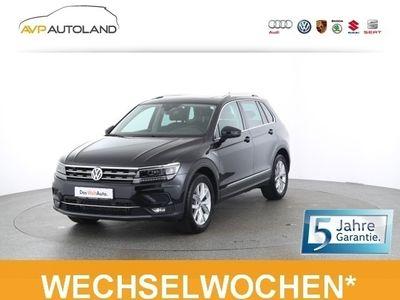 gebraucht VW Tiguan 2.0 TDI BMT DSG 4MOTION Highline | PANO |