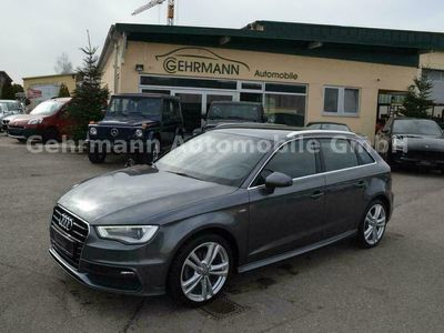 gebraucht Audi A3 Sportback 1,4 G-Tron CNG S line Sport, Navi