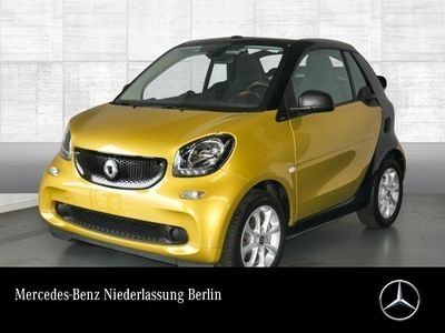 gebraucht Smart ForTwo Cabrio 52kW passion DCT cool&Audio SHZ PDC