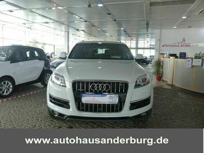gebraucht Audi Q7 TDI quattro+Pao+7Sitzer+SHZ