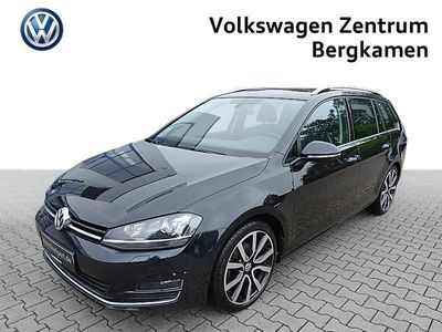 gebraucht VW Golf Variant 1.4 TSI HIGHLINE R-LINE EXTERIEUR XENON/ALU18/Navi/Bluetooth/Sitzhzg