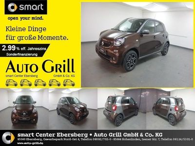 gebraucht Smart ForFour 66 kW turbo twinamic Perfect Navi LED