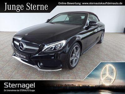 gebraucht Mercedes C180 AMG Line/Navi/Sitzhzg/Airscarf/Parktronic Klima