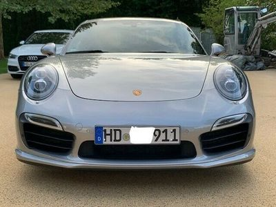 gebraucht Porsche 991 Turbo S Burm. Vollleder 1.Hand Pors.Approved