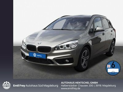gebraucht BMW 220 Active Tourer d Aut. Sport Line NAVI LED AHK