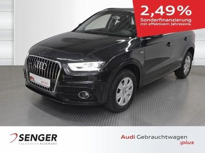 gebraucht Audi Q3 2.0 TDI quattro S line Selection, Leder, AHK,