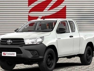 gebraucht Toyota HiLux Extra Cab Duty 4x4 2.4 D-4D Allrad DPF ZV TRC ESP MAL