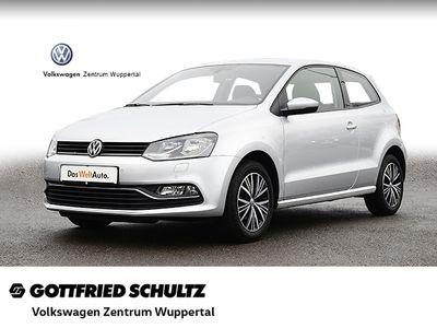 gebraucht VW Polo 1,0 ALLSTAR KLIMA SHZ PDC VO HI ALU MFA ZV Allstar