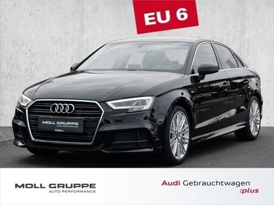 gebraucht Audi A3 S line sport 2.0 TDI Navi, LED, Autom., Kamera, PDC, SHZ, ABS, ESP