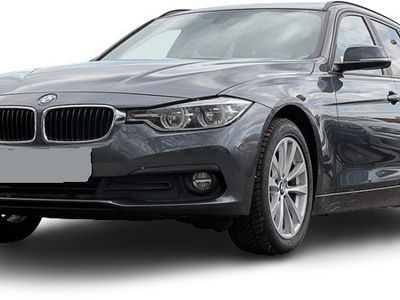 gebraucht BMW 318 318 d touring Autom. Advantage Pano AHK LED Teilleder