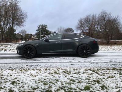 gebraucht Tesla Model S mit AC-Doppell. Vollaust. scheckheft