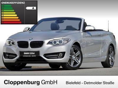 gebraucht BMW 220 dA Sport Line Sound Tempomat 190PS Fin 0,99%