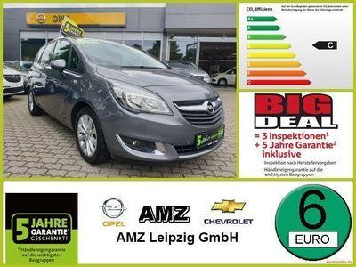gebraucht Opel Meriva B 1.4 Turbo drive *Sitzh. Klima PDC Tempoma