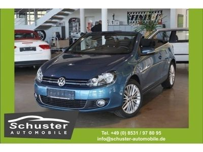 gebraucht VW Golf Cabriolet VI Cup 1.4 TSI Klimaaut. SHZ PDC