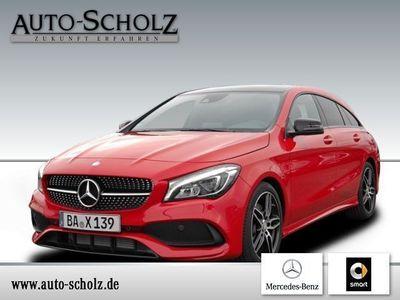 gebraucht Mercedes CLA250 Shooting Brake AMG Line+Night-Paket+Chrom-Paket
