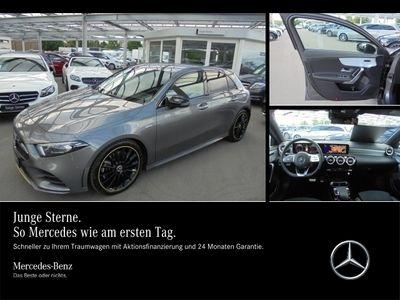 gebraucht Mercedes A250 Edition1/AMG/Navi-Premium/Night/LED/Distro