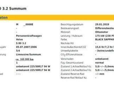 gebraucht Volvo S80 –3.2 Summum