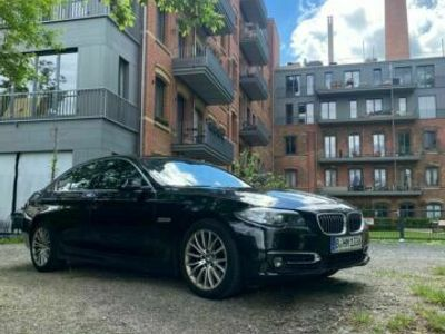 gebraucht BMW 518 dA Luxury line, digitaler Tacho, großes Navi, Memorysitze