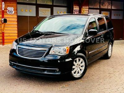 gebraucht Chrysler Grand Voyager 3.6 V6*7 SITZ*LEDER*DVD*SERVICE NEU*GARANTIE*AHK