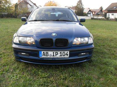 gebraucht BMW 318 3er Touring LPG Gas AHK Tüv neu treu und gut