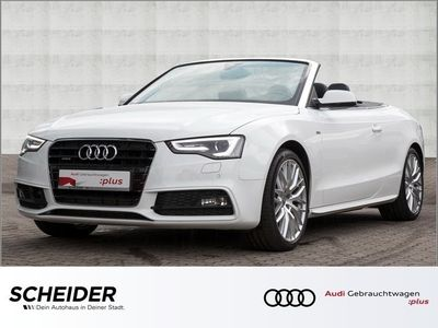 gebraucht Audi A5 Cabriolet 3.0 TDI qu 2 x S line ACC Navi Klima LM