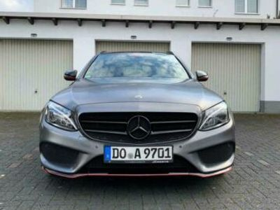 gebraucht Mercedes C160 MercedesT AMG Paket Scheckheft 9 G A...