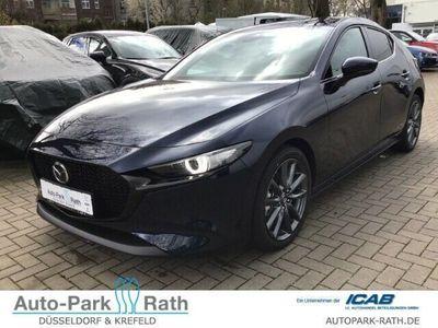 gebraucht Mazda 3 G122 Selection M Hybrid *18Zoll*Leder*Design-Paket*
