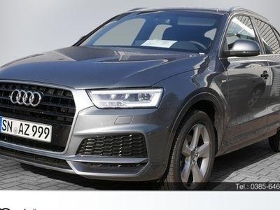 gebraucht Audi Q3 sport 2.0 TDI PDC SHZ NAVI LED EURO6