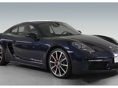 käytetty Porsche 718 CaymanS 2.5 BOSE Sportabgasanlage PDK PDLS