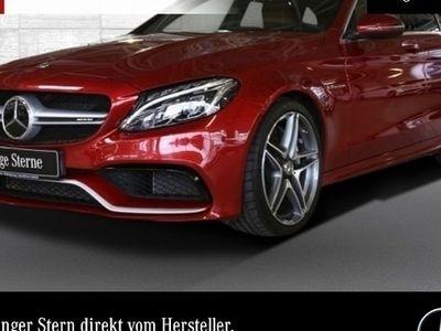gebraucht Mercedes C63 AMG AMG T designo PerfAbgas ILS COMAND Fahrass+