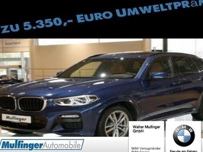 "gebraucht BMW X3 xDrive 30d M Sport 19"" AHK ACC Pano HiFi"