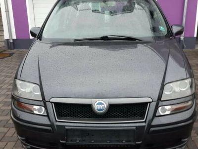 gebraucht Fiat Ulysse 2.0 JTD Familienvan 7- Sitzer